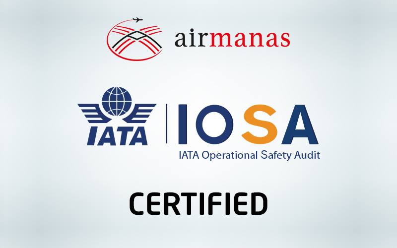 Air Manas IOSA Certified